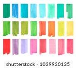 color vertical highlight... | Shutterstock .eps vector #1039930135