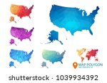 united states of americ and... | Shutterstock .eps vector #1039934392