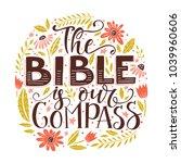 vector religions lettering  the ... | Shutterstock .eps vector #1039960606