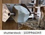 Mineral Block In A Stable With...