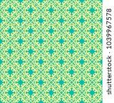 beautiful  vintage pattern...   Shutterstock .eps vector #1039967578