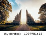 gates to one of the hindu... | Shutterstock . vector #1039981618