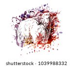 vector color illustration of a... | Shutterstock .eps vector #1039988332