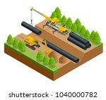 isometric vector illustration...   Shutterstock .eps vector #1040000782