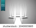 vector floodlights. scene.... | Shutterstock .eps vector #1040005885