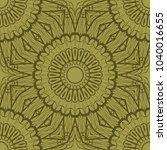 floral ornament. seamless... | Shutterstock .eps vector #1040016655