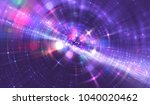 Abstract Violet Background Wit...