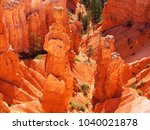 the bryce canyon national park  ...   Shutterstock . vector #1040021878