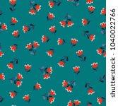 simple cute pattern in small...   Shutterstock .eps vector #1040022766