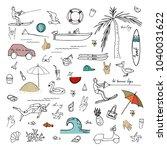 vector illustration. summer...   Shutterstock .eps vector #1040031622