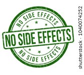 no side effects grunge rubber... | Shutterstock .eps vector #1040074252