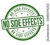 no side effects grunge rubber... | Shutterstock .eps vector #1040074252