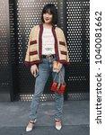 milan  italy   february 21 ... | Shutterstock . vector #1040081662