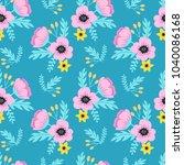 elegant spring colorful...   Shutterstock .eps vector #1040086168