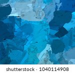 oil painting on canvas handmade.... | Shutterstock . vector #1040114908