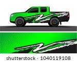 truck and vehicle graphic... | Shutterstock .eps vector #1040119108