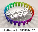support group system people... | Shutterstock . vector #1040137162