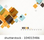 eps10 vector multicolor... | Shutterstock .eps vector #104015486