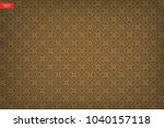 thai pattern background of... | Shutterstock .eps vector #1040157118