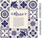 Mexican Traditional Talavera...
