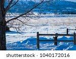 Ranch In Winter