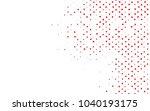 light red vector geometric... | Shutterstock .eps vector #1040193175