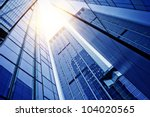 disappearing glass office... | Shutterstock . vector #104020565