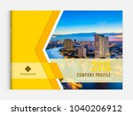 business brochure cover design... | Shutterstock .eps vector #1040206912