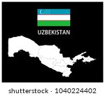 map and national flag of...   Shutterstock .eps vector #1040224402