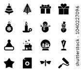 solid vector icon set  ...   Shutterstock .eps vector #1040227096