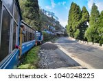 darjeeling  west bengal  india  ... | Shutterstock . vector #1040248225
