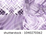collection of lilac... | Shutterstock . vector #1040270362