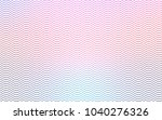 light blue  red vector banner... | Shutterstock .eps vector #1040276326