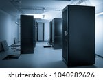 server room and data center | Shutterstock . vector #1040282626