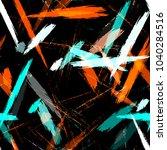 textile striped vector seamless ...   Shutterstock .eps vector #1040284516