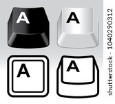 3d and icon keyboard button...