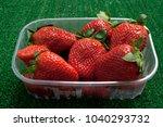 fresh fruit   strawberry | Shutterstock . vector #1040293732