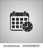 calendar date icon | Shutterstock .eps vector #1040308855