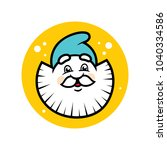 dwarf head sign   Shutterstock .eps vector #1040334586