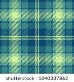 seamless tartan vector pattern | Shutterstock .eps vector #1040337862