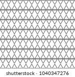 geometric ornamental vector... | Shutterstock .eps vector #1040347276