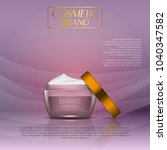 3d realistic cosmetic bottle... | Shutterstock .eps vector #1040347582