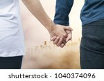 soft focus valentine couples... | Shutterstock . vector #1040374096