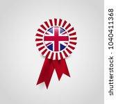 uk country flag emblem | Shutterstock .eps vector #1040411368