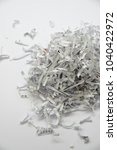 shredded documents   objects | Shutterstock . vector #1040422972