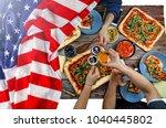 american flag  us flag ... | Shutterstock . vector #1040445802
