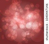 bokeh background vector... | Shutterstock .eps vector #1040447146