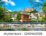 marburg an der lahn  old city ... | Shutterstock . vector #1040462038
