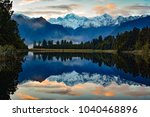 mirrored reflections of the... | Shutterstock . vector #1040468896
