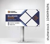 billboard design  banner layout ... | Shutterstock .eps vector #1040494696